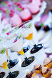 Luxurious desserts Royalty Free Stock Photos