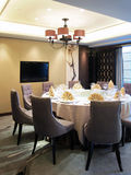 Luxurious dining room Royalty Free Stock Images