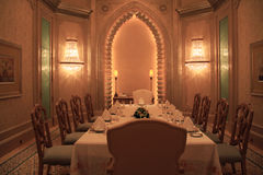Luxurious dining room Stock Photos