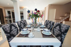 Luxurious dining room Stock Image