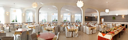 Luxurious dining room Stock Photography