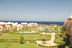 Luxurious Egyptian resort Stock Photo