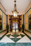 Luxurious entrance. Entrance of the luxurious residential building Royalty Free Stock Photography