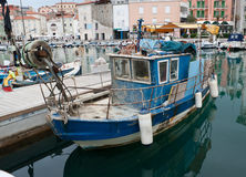 The old fishing boat Royalty Free Stock Image