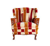 Luxurious fabric armchair Royalty Free Stock Photos
