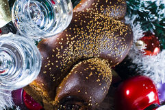 Luxurious festive scene Stock Photography