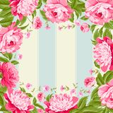 Luxurious flower wallapaper. Royalty Free Stock Images