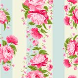 Luxurious flower wallapaper. Stock Photos
