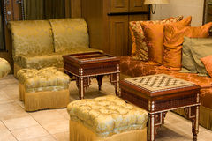 Luxurious Furniture Stock Photography