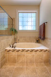 Luxurious Garden Tub Stock Photography