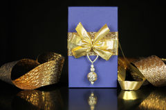 Luxurious gift arrangement Royalty Free Stock Photo