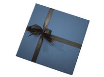 Luxurious gift box (clipping path) Royalty Free Stock Photo