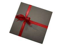 Luxurious gift box (clipping path) Stock Photography