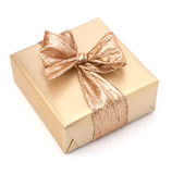 Luxurious gift isolated on white background royalty free stock images