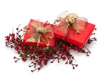 Luxurious gifts Stock Photos