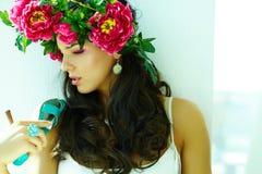 Luxurious girl Royalty Free Stock Image