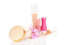 Luxurious cosmetics. Royalty Free Stock Images