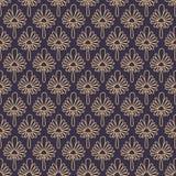 Luxurious gold ornamental pattern design Stock Photo