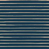 Luxurious gold rich blue striped horizontal geometric design. Seamless vector pattern. Perfect for men fashion royalty free stock images