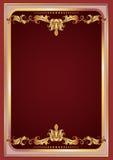 Luxurious golden ornament Stock Photo