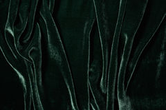 Luxurious green velvet background Royalty Free Stock Photography