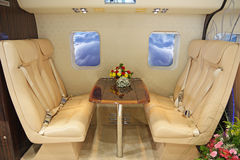 Luxurious helicopter Stock Images