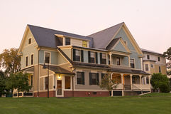 Luxurious home New England. Exterior architecture of luxurious home in New England region, U.S.A Stock Photography