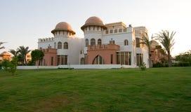 Luxurious hotel. View Hurgada, Egypt Stock Photo