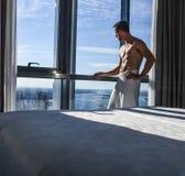 Luxurious hotel in Australia stock photo