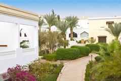Luxurious hotel Egypt stock photos
