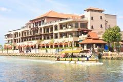Luxurious Hotel of Malacca stock photo