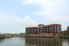 Luxurious hotel of malacca Royalty Free Stock Photo