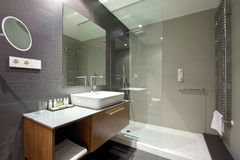 Luxurious hotel resort bathroom Stock Images