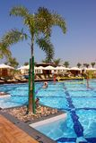 Luxurious hotel resort Stock Photo