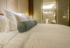 Luxurious hotel room Royalty Free Stock Photo