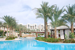 Luxurious hotel at Sharm el Sheikh Royalty Free Stock Images