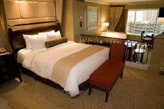 Luxurious hotel suite Royalty Free Stock Photo