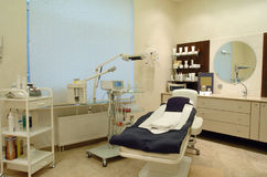 Luxurious interior of a beauty salon Royalty Free Stock Photos