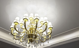 Luxurious interior details Royalty Free Stock Photography