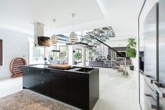 Luxurious interior of estate Stock Image