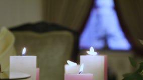 Luxurious interior stock video footage
