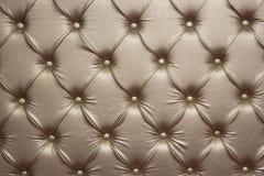 Luxurious golden leather walls stock photos
