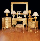 Luxurious interior items Royalty Free Stock Images