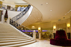 Luxurious interior staircase Stock Photography