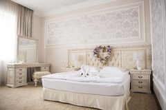 Luxurious interior in the vintage style.  royalty free stock images