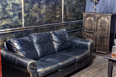 Luxurious interior in the vintage style Stock Photos