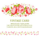 Luxurious invitation card. Royalty Free Stock Images
