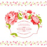 Luxurious invitation card. Royalty Free Stock Photos