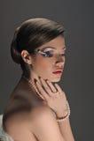 Luxurious lady Royalty Free Stock Image