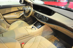 Luxurious limousine interior Royalty Free Stock Photo